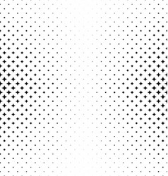 Abstract monochrome star pattern background vector image