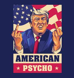 American psycho vector