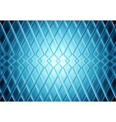Blue tech stripes bright pattern background vector