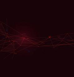 Business plexus structure presentation digital vector