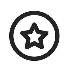 favorite icon vector image