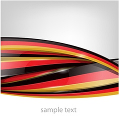 Germany flag on background vector
