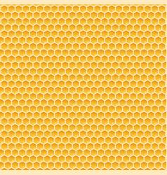 honeycomb monochrome honey pattern stock vector image