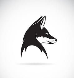 Image of an fox head vector