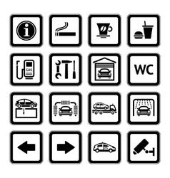 service picograms vector image