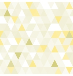 Triangular shape shimmering seamless pattern vector image