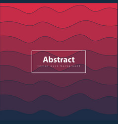 abstract colorful background red and dark blue vector image vector image
