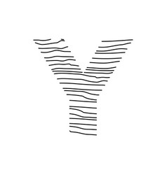 Abstract line initial y vector