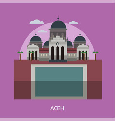 Aceh conceptual design vector
