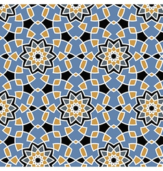 Arabesque seamless pattern vector