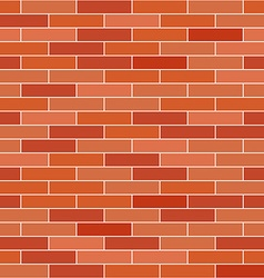 Brick wall background seamless pattern vector
