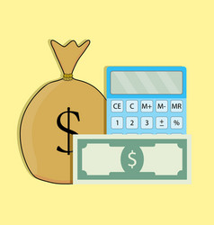 count money vector image