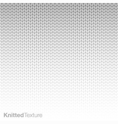 Knitted texture vector