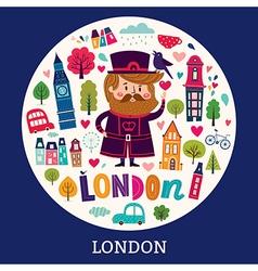 London symbols vector image