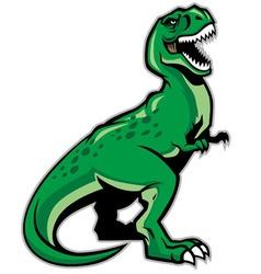 Trex dinosaur vector
