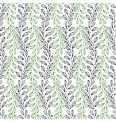 leaves seamless pattern nature background can be vector image