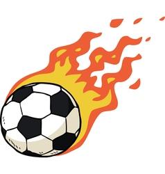 Fire ball vector