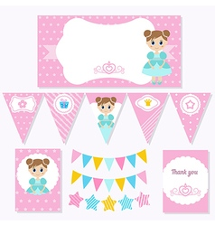 Princess Birthday vector image
