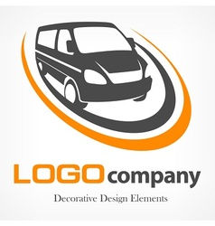 Van logotype vector