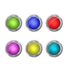 Web button icon in on white background vector
