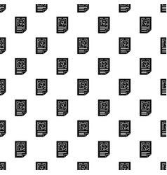 labyrinth solution pattern seamless vector image