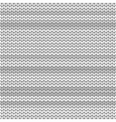 Light gray striped knitted background vector