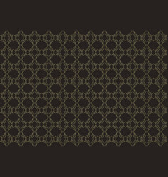 seamless luxury ornamental background damask vector image