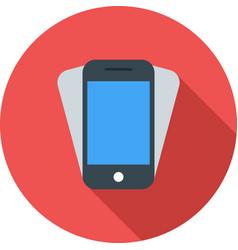 Smartphone shake vector