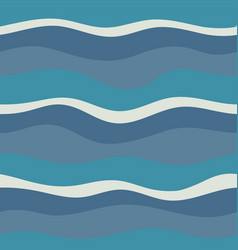 water wave abstract design vector image
