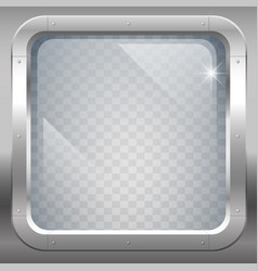 Window with clear glass vector