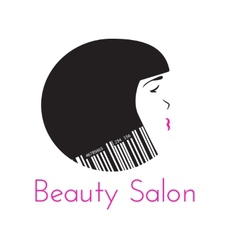 Beauty Salon Logo template vector image
