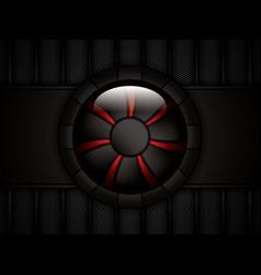 Realistic computer cooler vector