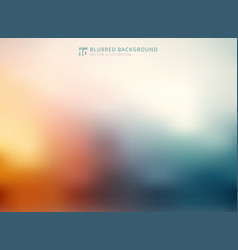 abstract color blurred background modern style vector image