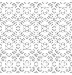 Abstract seamless geometric islamic vector