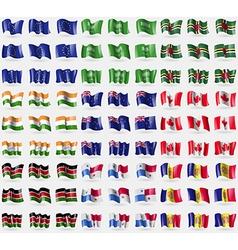 European Union Saudi Arabia Dominica India New vector
