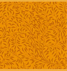 floral autumn seamless pattern vector image