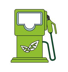 Gas pump vector