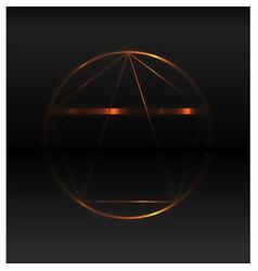 Golden ratio background vector