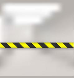 Lines barrier tape vector