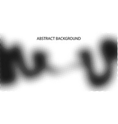 monochrome points abstract background vector image