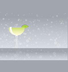 Official cocktail icon the unforgettable daiquiri vector