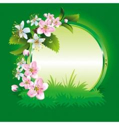 Spring collection four seasons vector