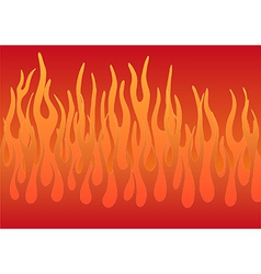 Stylized flames vector image