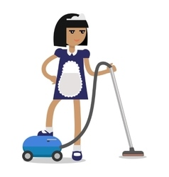 House Cleaning Personnel Concept vector image
