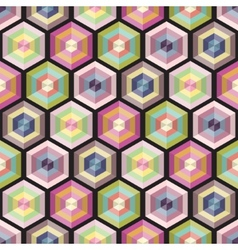 Seamless background geometry pattern vector