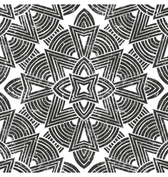 seamless tribal pattern Hand-drawn vector image vector image
