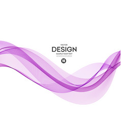 Abstract background purple wavy vector