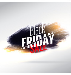 amazing black friday sale poster design with vector image