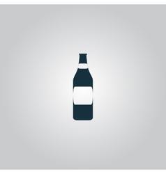 Bottle of beer - vector image