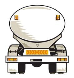 Fuel tanker vector